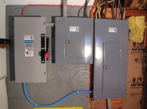 Generator transfer switch and panel
